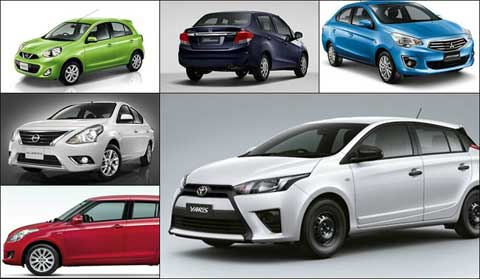 รถรุ่นไหนที่คนไทยให้ความนิยมสูงสุด